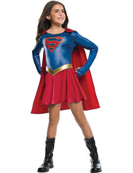 Girls Supergirl TV Series Costume Childs (Medium)