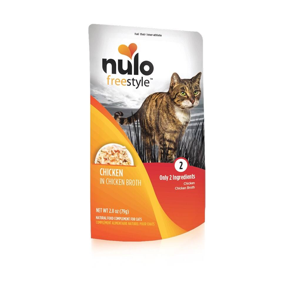 Nulo Freestyle Chicken in Broth Wet Cat Food, 2.8 oz