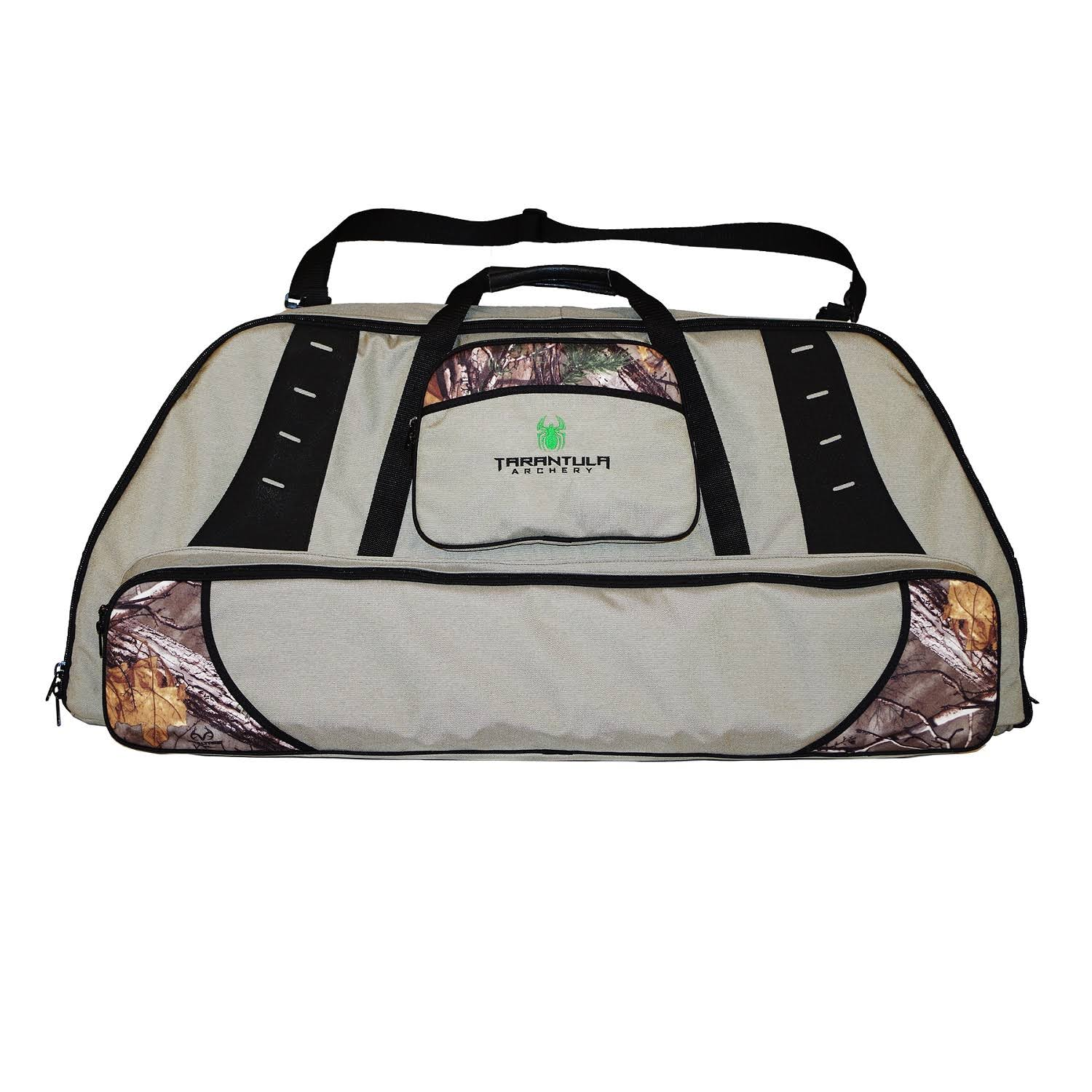 Tarantula Deluxe Double Bow Case with Tackle Box Stone Camo