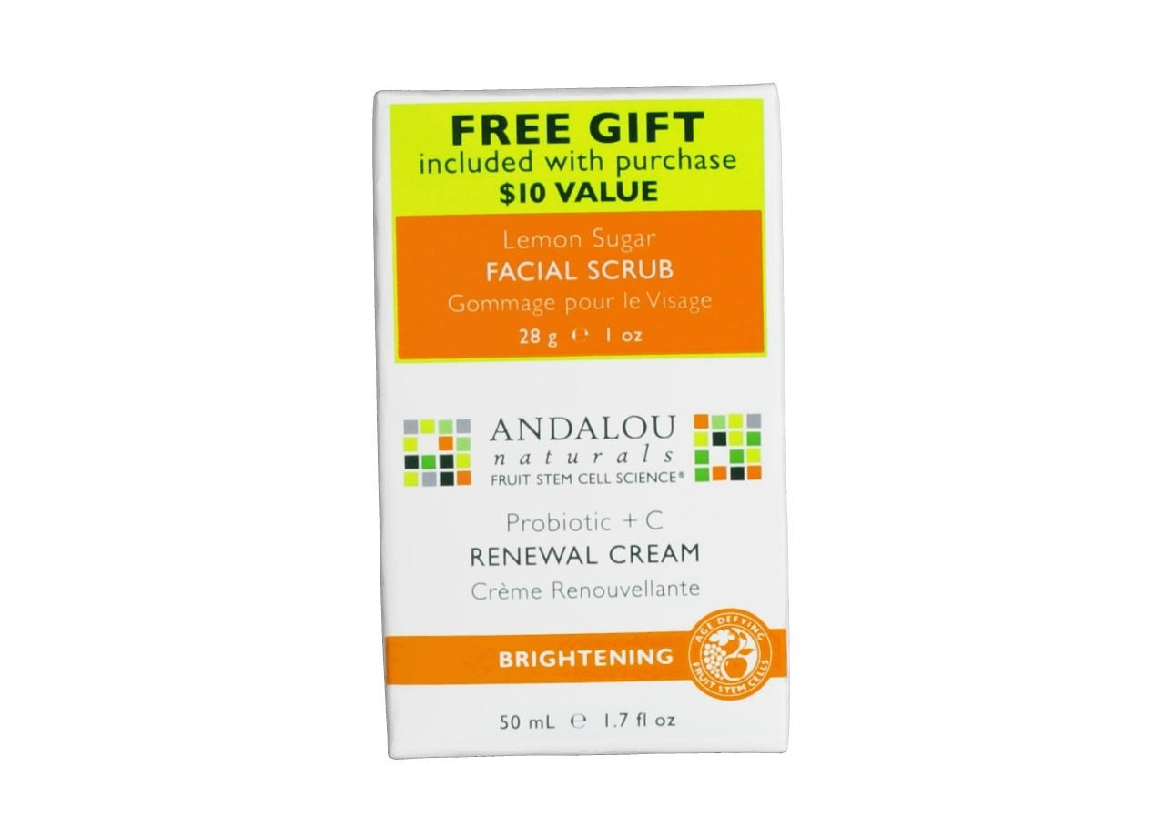 Andalou Renewal Cream - 50ml