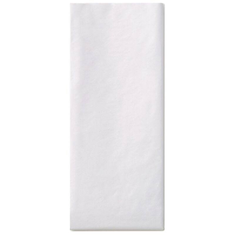 Hallmark White Tissue Paper, 10 Sheets
