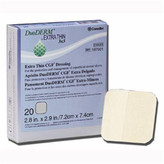 Duo Derm Dressing - Extra Thin, Square, x20