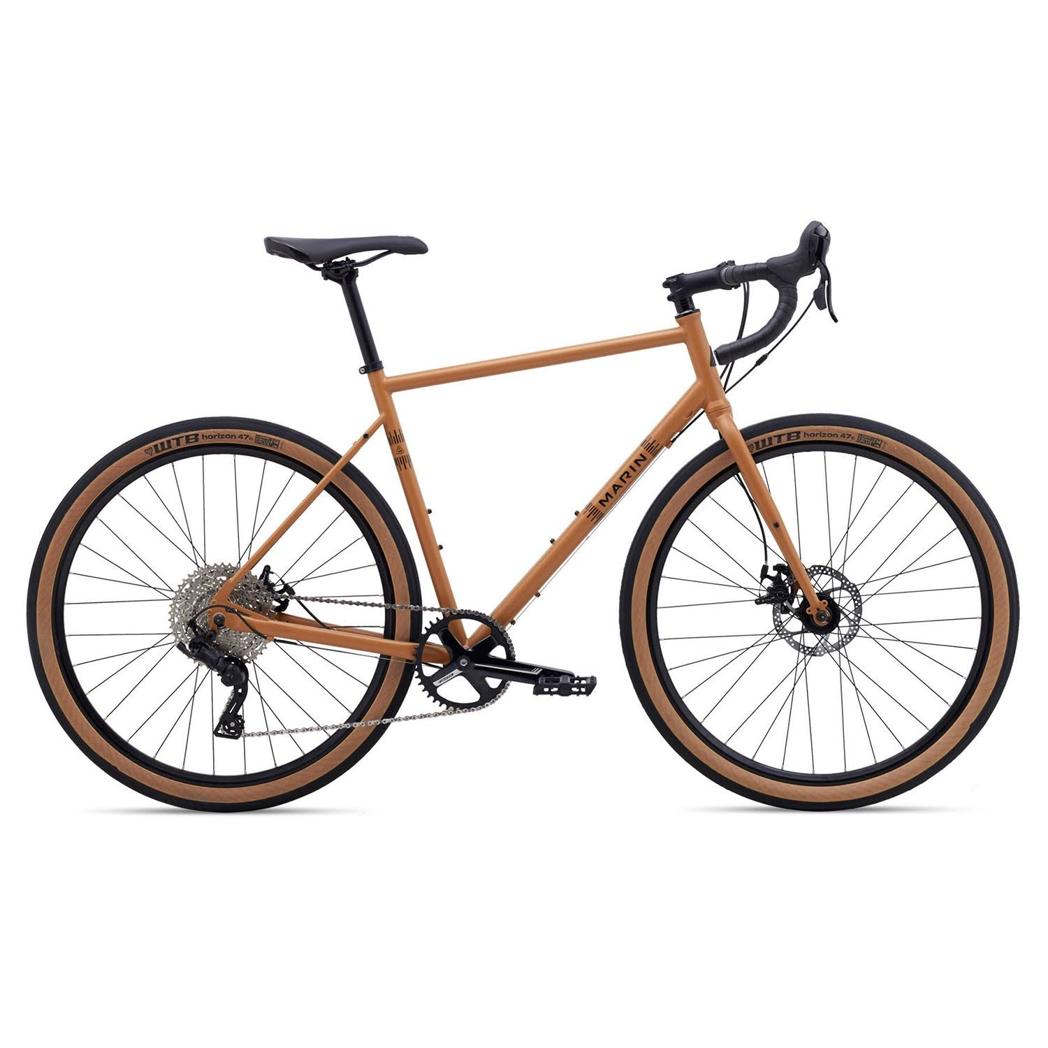 Marin Nicasio + Gravel Bike 2020 Satin Tan / 54