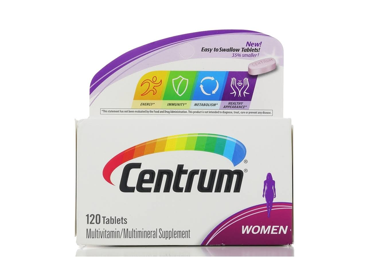 Centrum Women Multivitamin - 120 Tablets