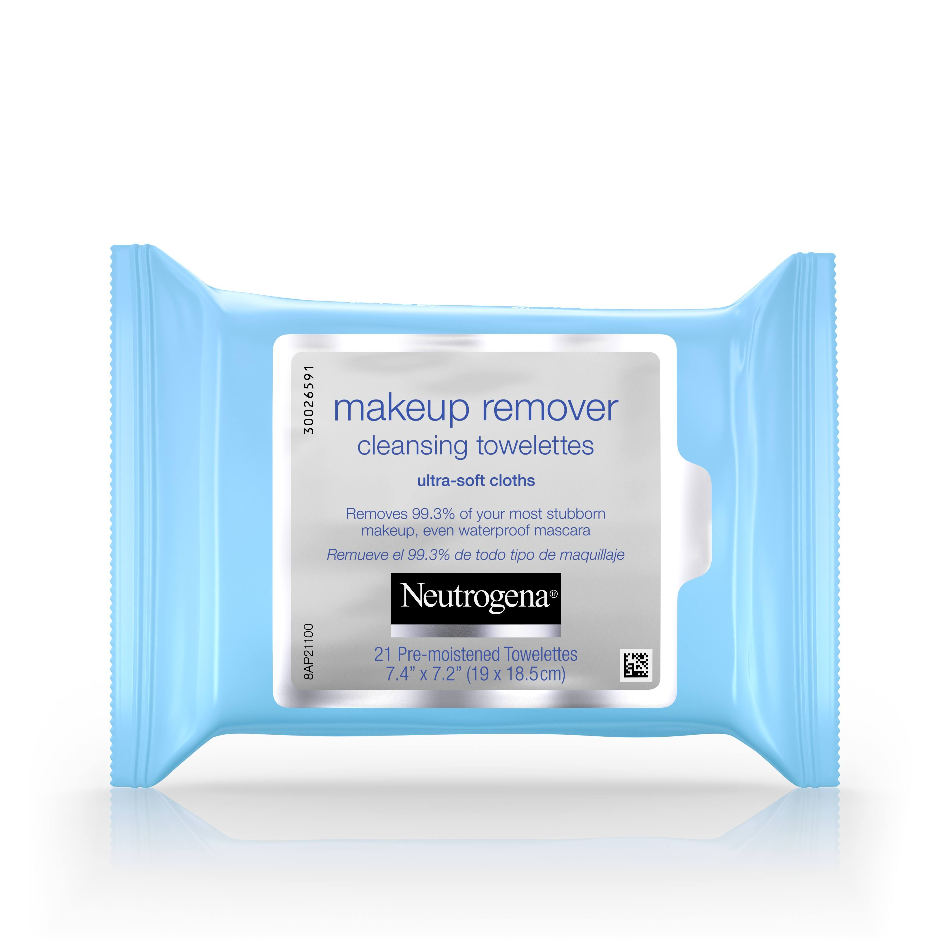 Neutrogena Makeup Remover Cleansing Towelettes - 21pk