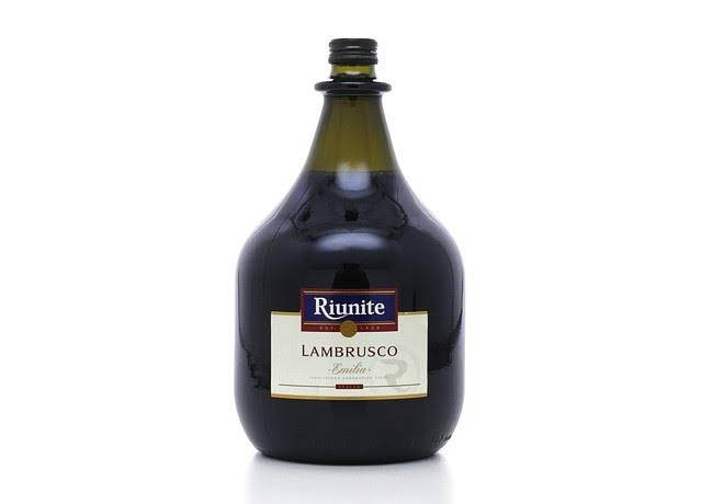 Riunite Lambrusco Liquor