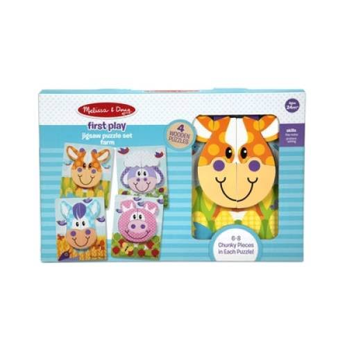 Melissa & Doug - First Play Jigsaw Puzzle Set Farm