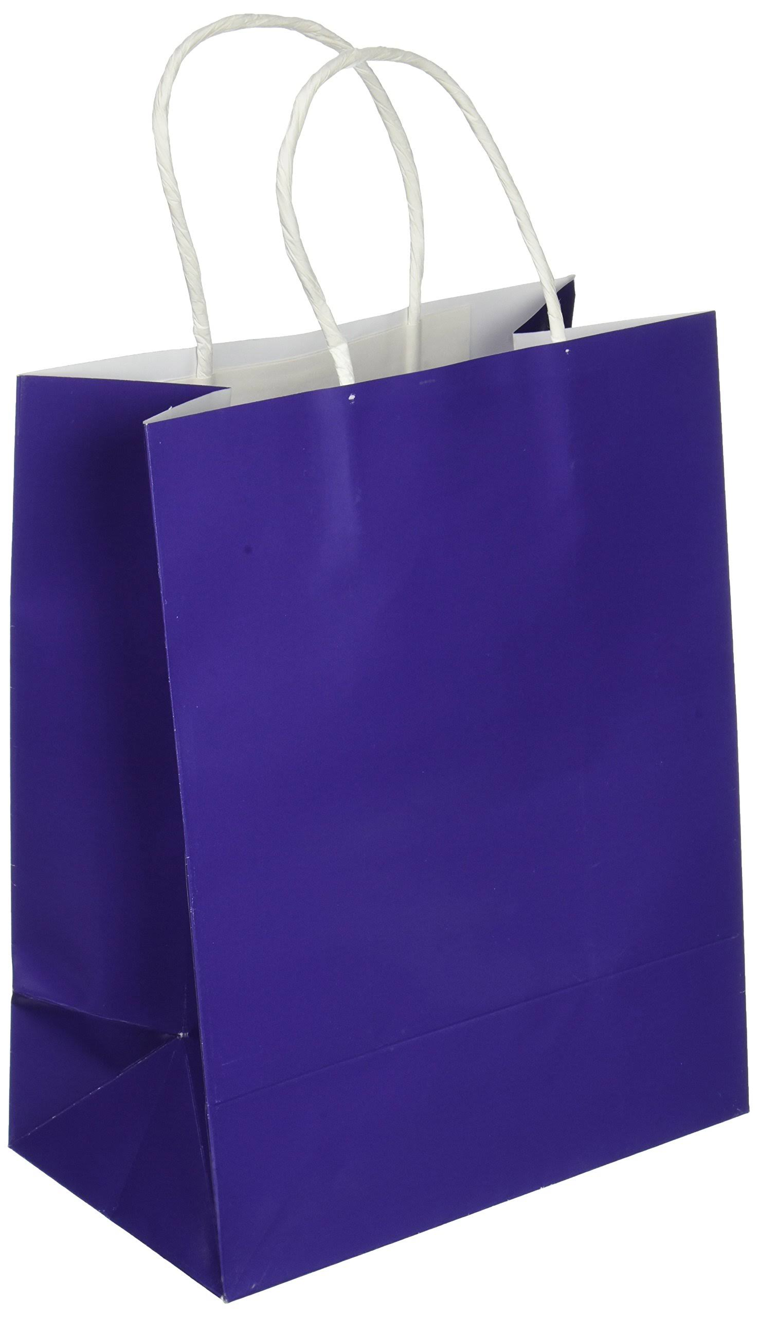 Darice Paper Gift Bag, Purple | Michaels