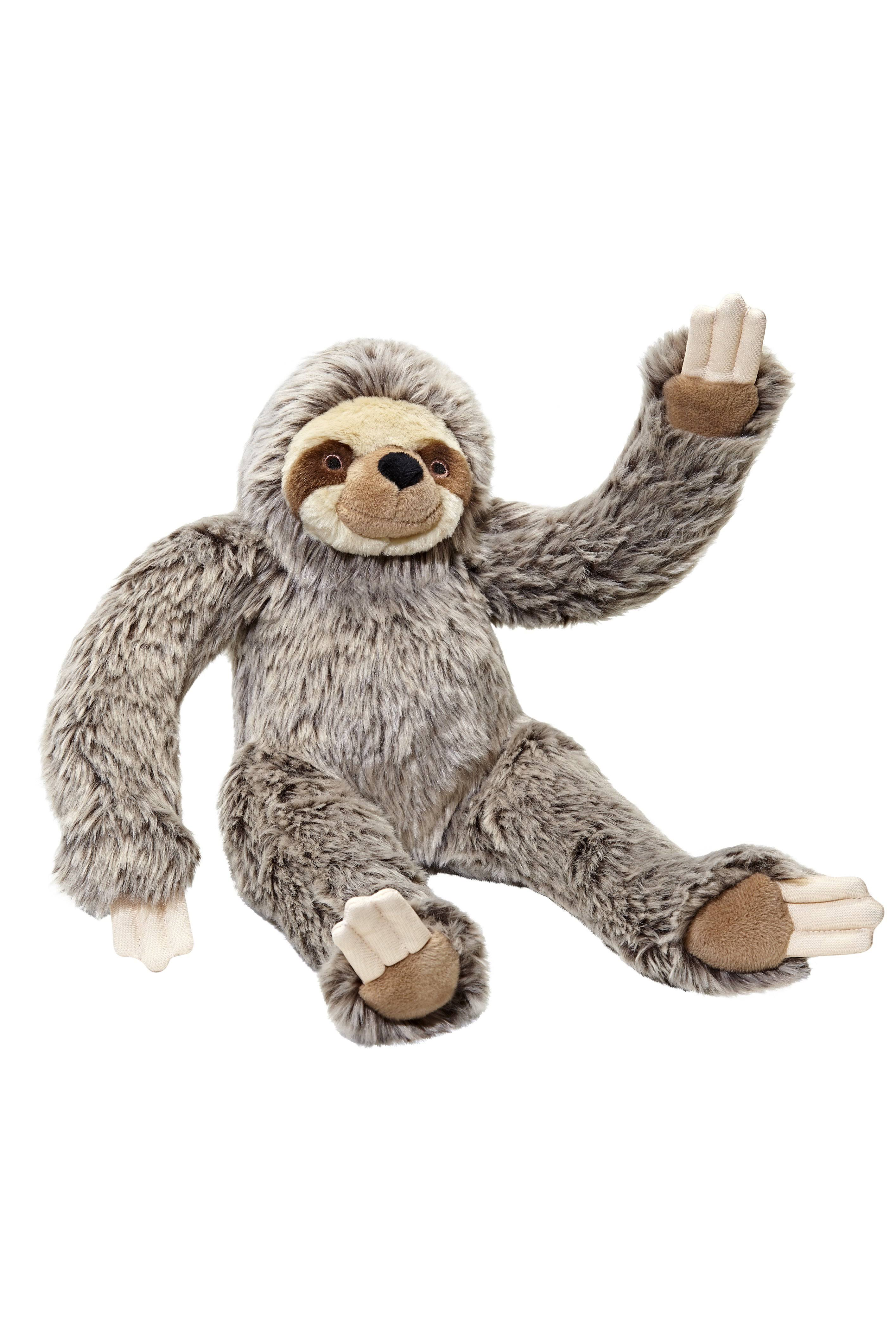 "Fluff & Tuff Tico Sloth 15"" Dog Toy"