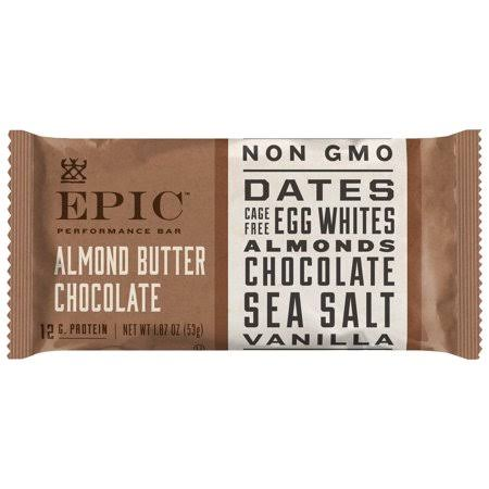 Epic Performance Bar, Almond Butter Chocolate - 1.87 oz