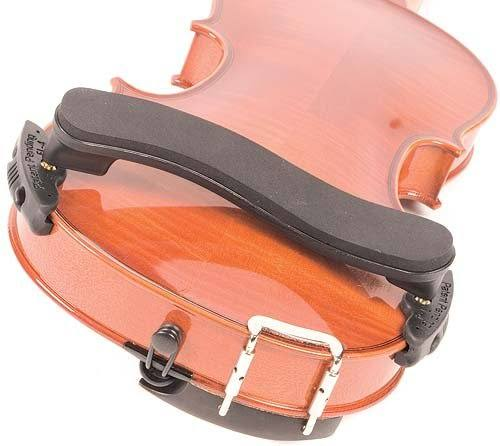 Everest EZ1A EZ Violin Shoulder Rest - 1/4-1/10, Black