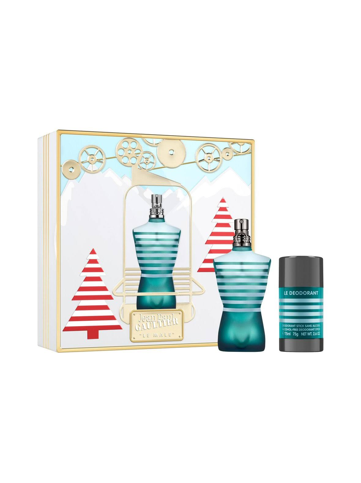 Jean Paul Gaultier Le Male Eau De Toilette 75ml Gift Set