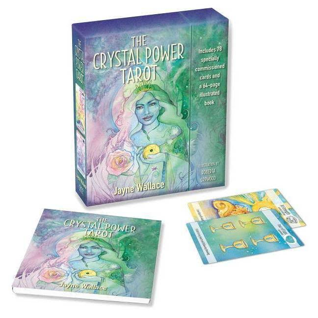 The Crystal Power Tarot: Includes a Full Deck of 78 Specially Commissioned Tarot Cards and a 64-page Illustrated Book