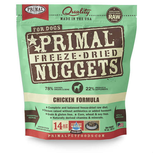 Primal Freeze Dried Dog Food - Chicken, 397g