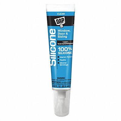 Dap Silicone Rubber Sealant - Clear
