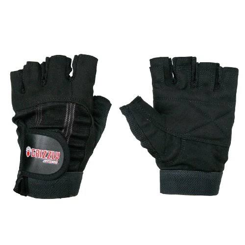 Grizzly Sport And Fitness Washable Training Gloves - Black, Large