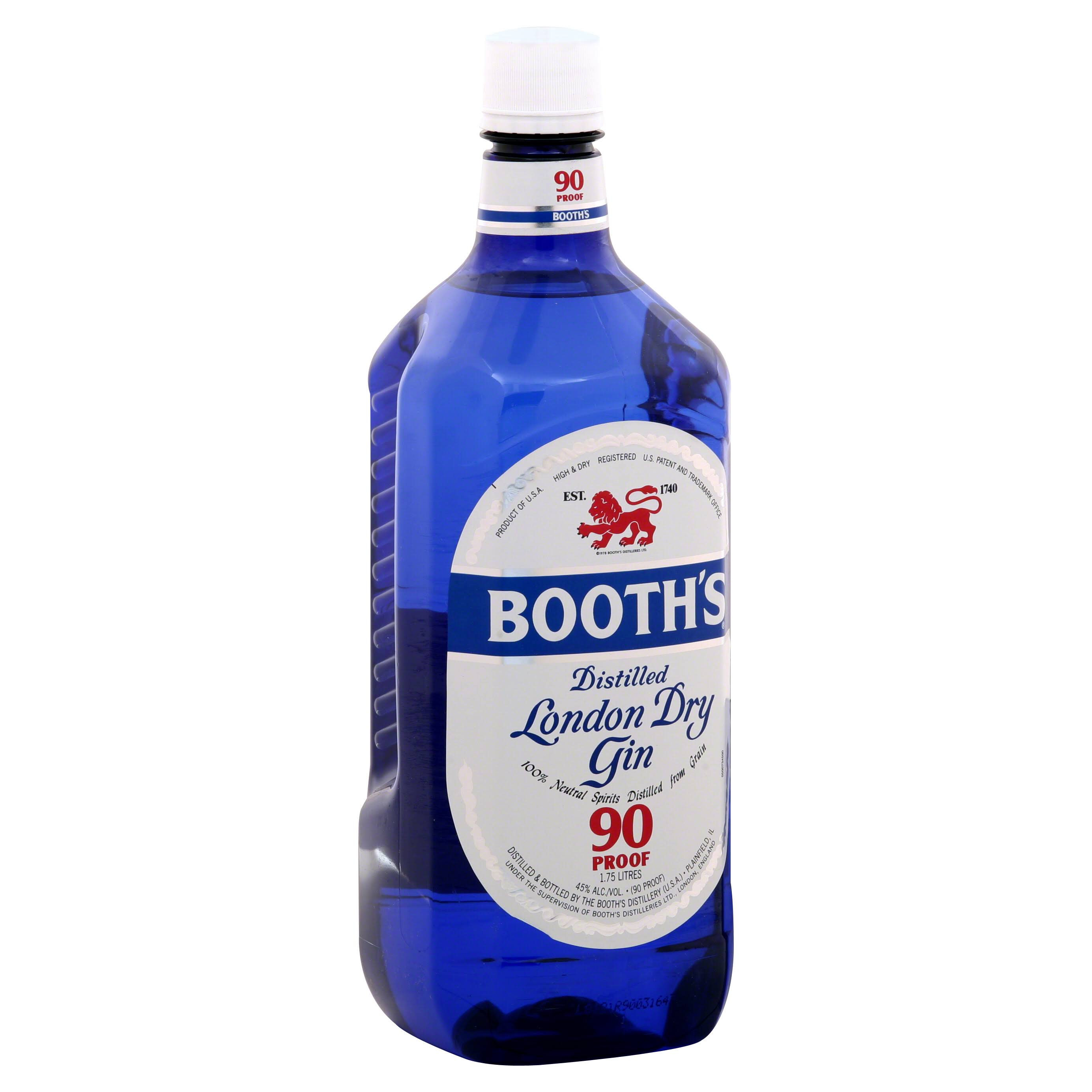 Booth's Distilled London Dry Gin