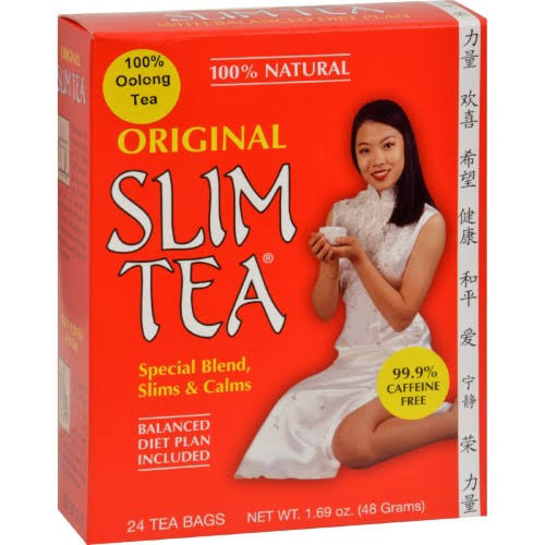 Hobe Labs 100% Natural Original Slim Tea - 24ct