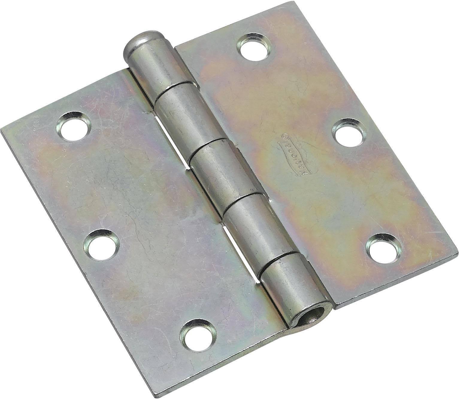 National Hardware Removable Pin Broad Hinge - Zinc Plated, 3-1/2""