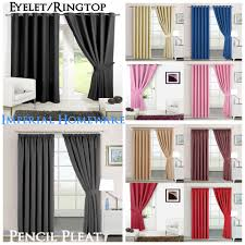 Ebay Curtains 108 Drop by Pencil Pleat Curtains Curtains U0026 Blinds Ebay