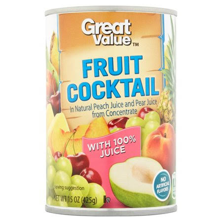 Great Value Fruit Cocktail, 15 oz