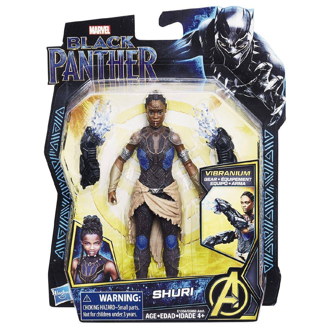 Hasbro Marvel Black Panther Action Figure - 6in