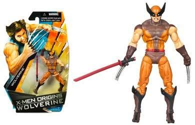X-Men Origins Wolverine - Comic Book Series - Wolverine Action Figure Brown