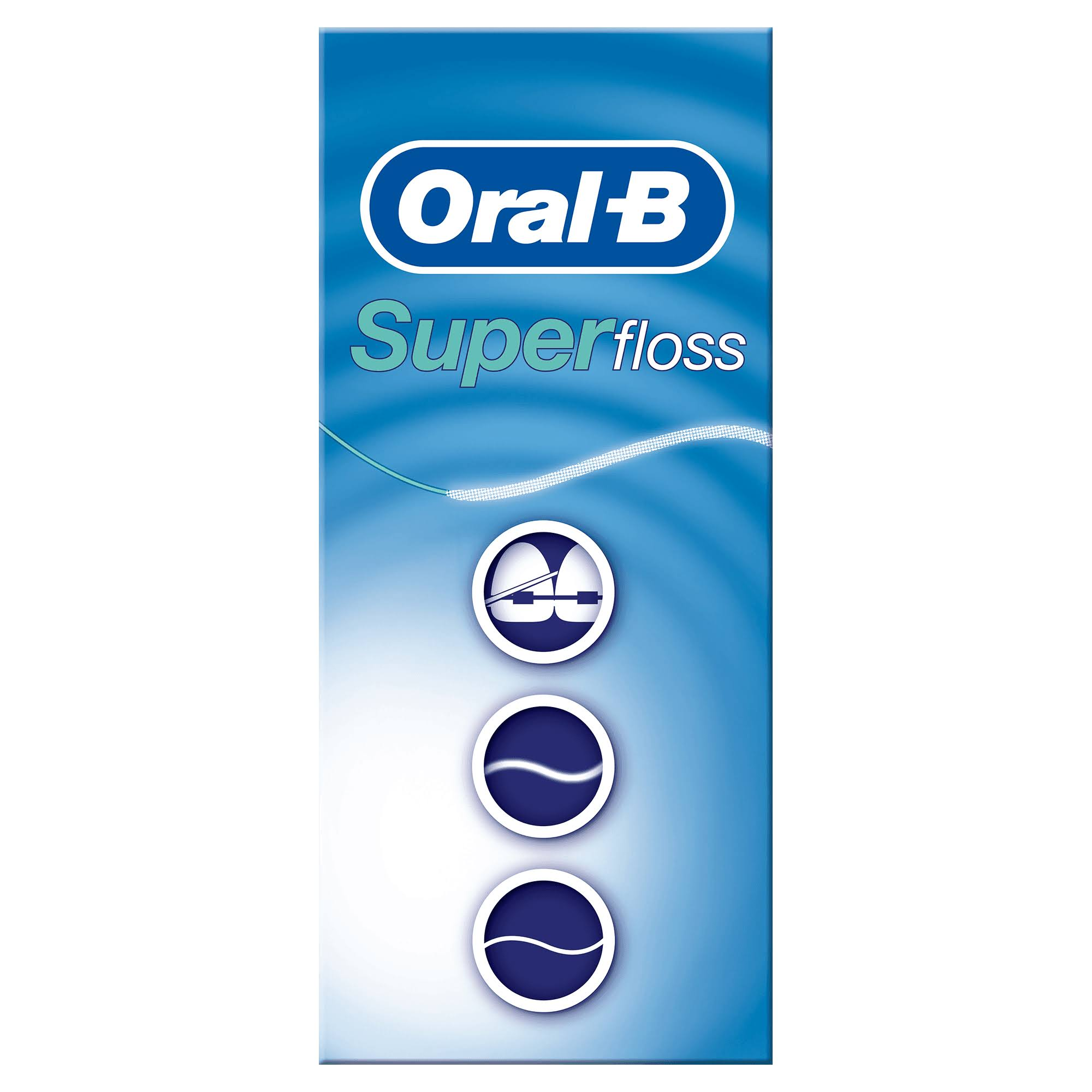 Oral B Pre Cut Super Dental Floss - 50ct