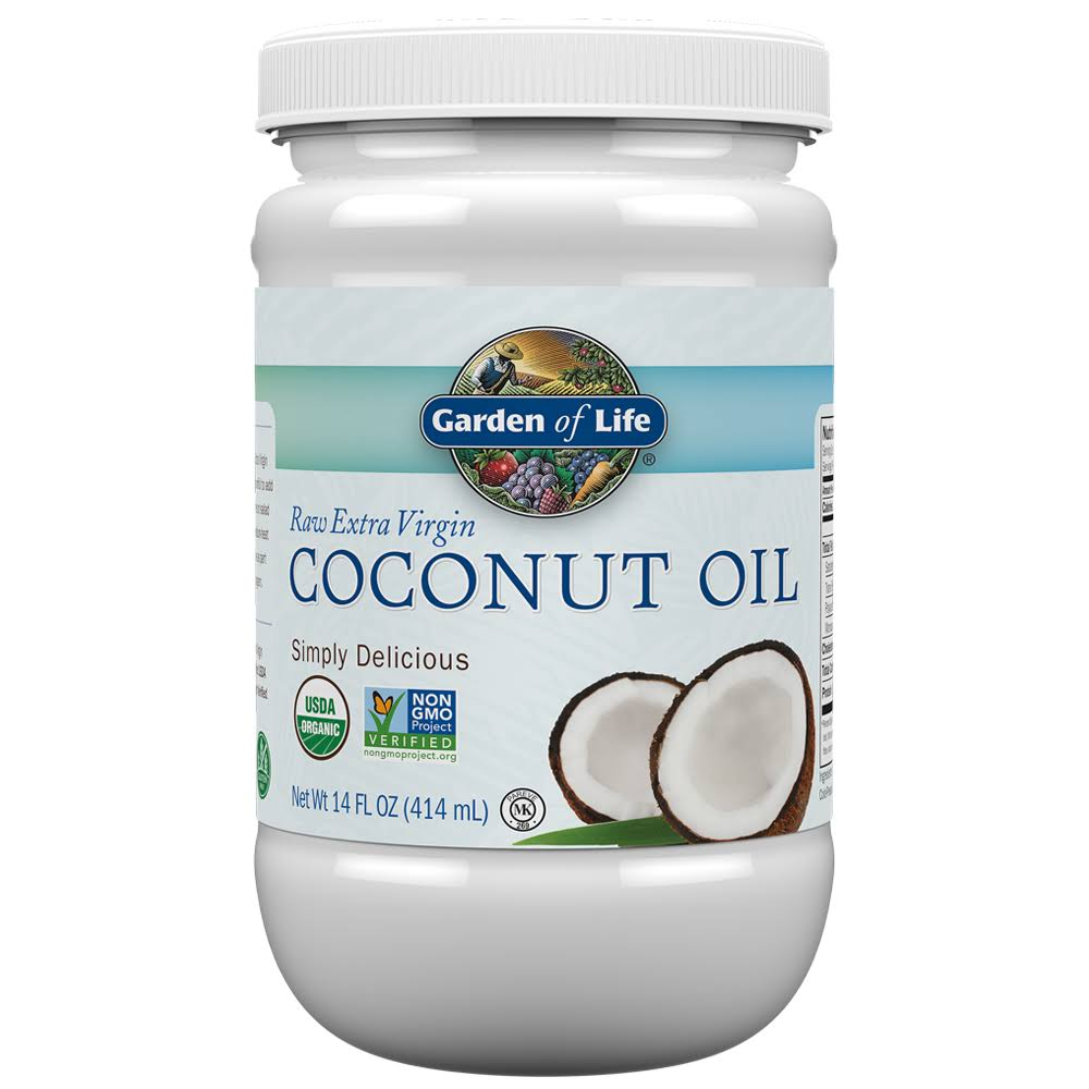 Garden of Life Raw Extra Virgin Coconut Oil - 14oz