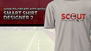 football manager 2016 tutorial how to create kits with smart shirt
