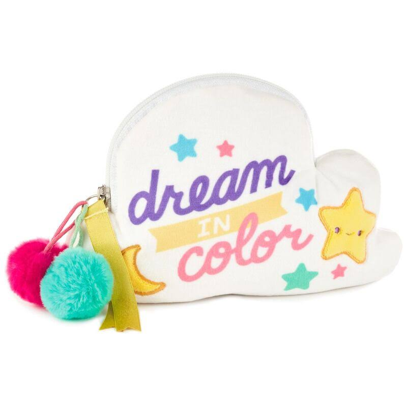 Hallmark Dream in Color Unicorn Cloud Zipper Pouch