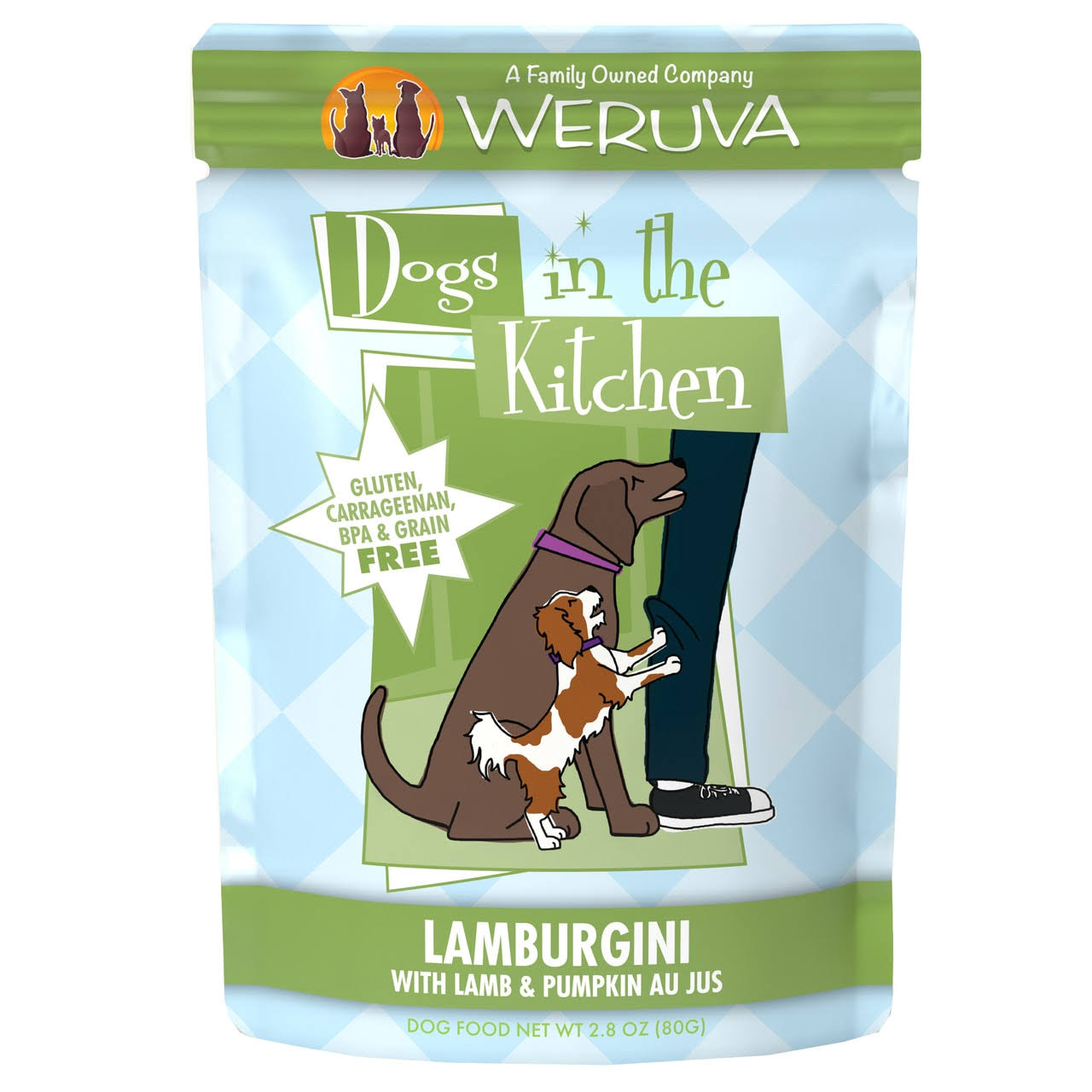 Weruva Dogs in the Kitchen Dog Food - Lamburgini