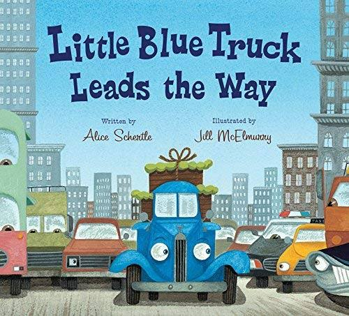 Little Blue Truck Leads the Way [Book]