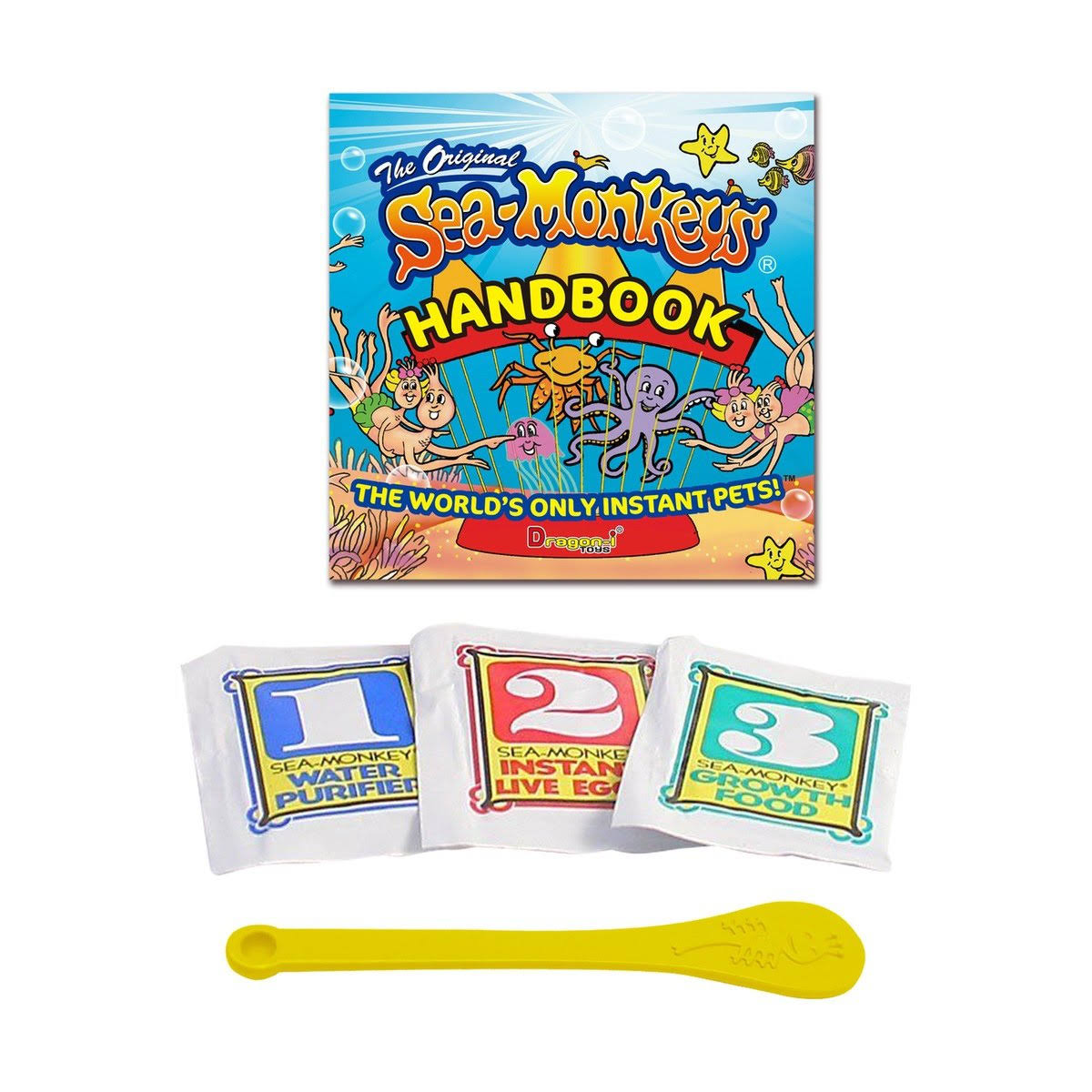 Amazing Live Sea Monkeys Original Instant Life Pack