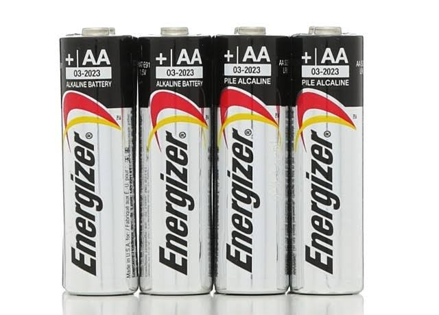 Energizer Max Power Seal Alkaline Batteries - Size AA, x8