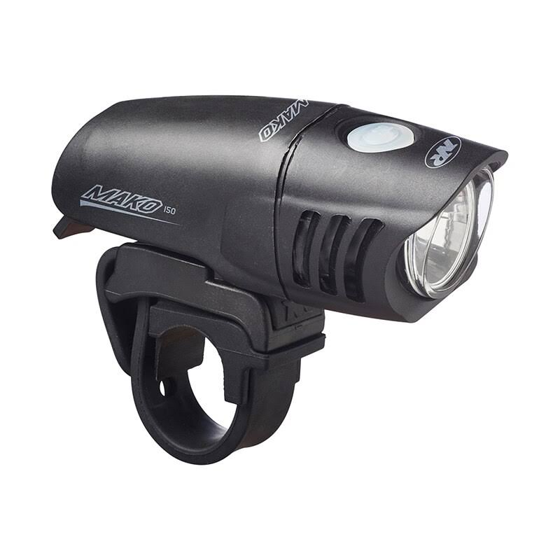 Nite Rider Mako 150 Bike Front Light - Black