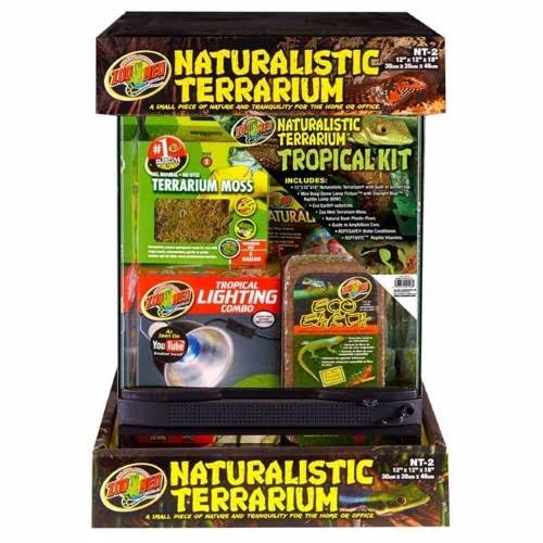 Zoo Med Naturalistic Terrarium Tropical Kit