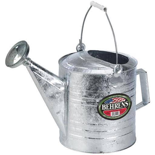Behrens Hot Dipped Steel Watering Can - 2 Gallon