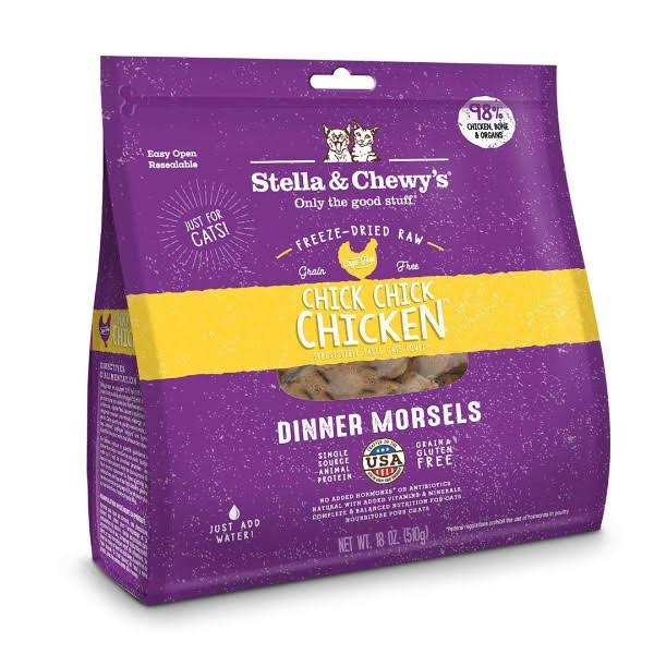 Stella & Chewy's Chick Chick Chicken Freeze-Dried Cat Food - 18 oz bag