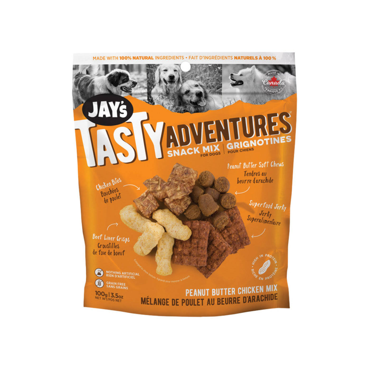 Jay's Tasty Adventures Peanut Butter Chicken Mix 07 oz.