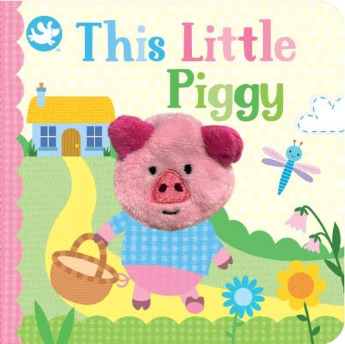 This Little Piggy Finger Puppet Book - Cottage Door Press