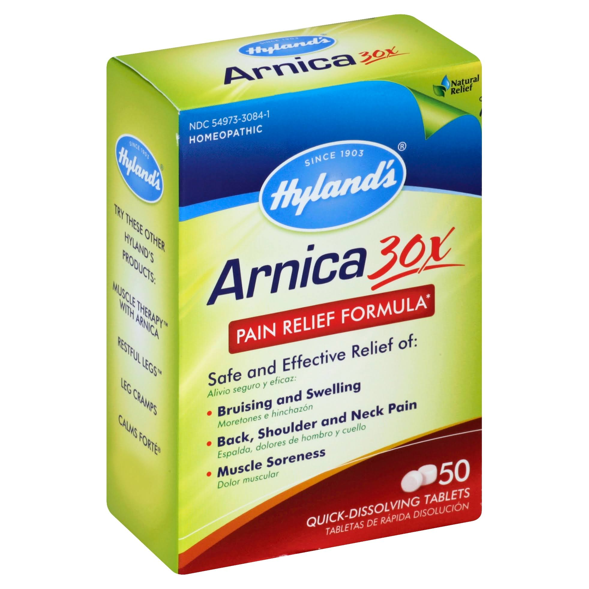 Hyland's Arnica 30X Pain Relief Formula - 50 Tablets