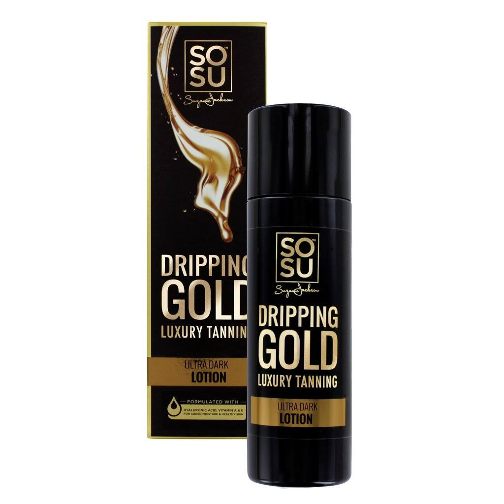 SOSU by Suzanne Jackson Dripping Gold Luxury Tanning Ultra Dark Lotion