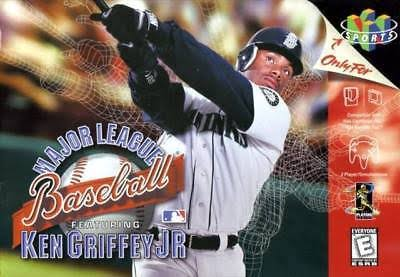 Major League Baseball Featuring Ken Griffey Jr. - N64 Nintendo