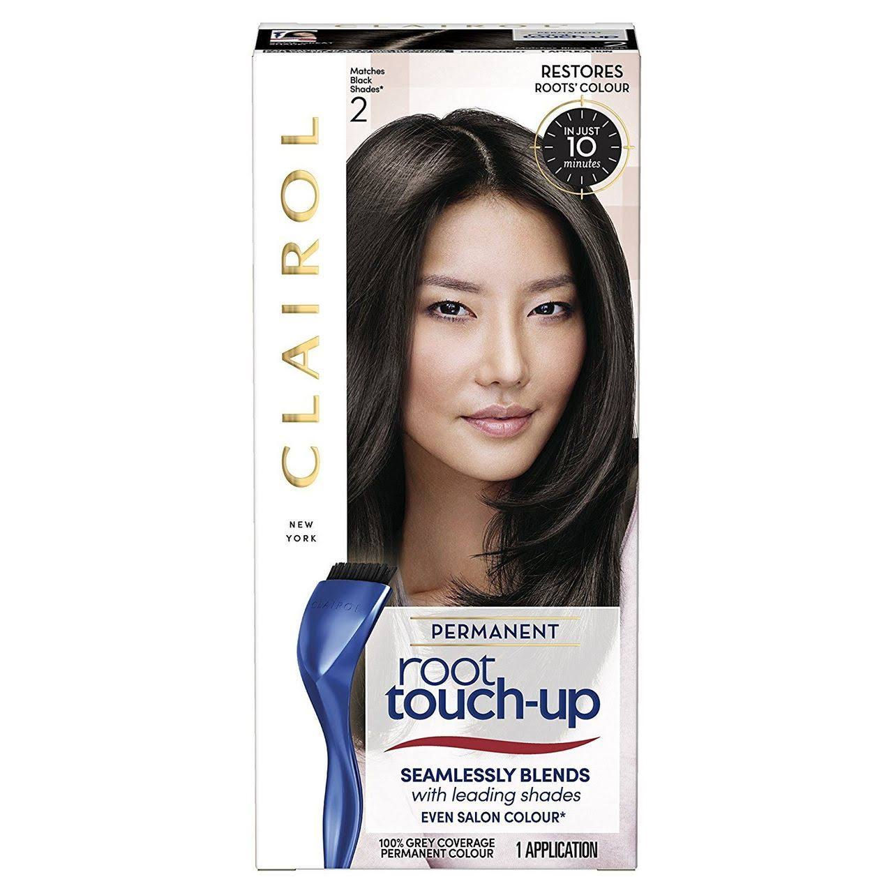 Clairol Root Touch Up Hair Dye - 2 Black