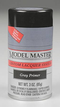 Testors Gray Primer 3oz Spray Paint 28137