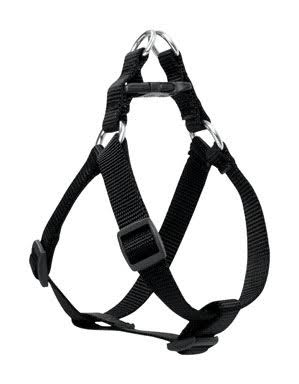 "Lupinepet Dog Harness - 3/4"", Black, for Medium Dogs"