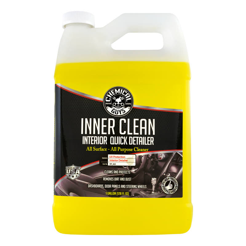 Chemical Guys Innerclean Interior Quick Detailer and Protectant - 1 Gallon