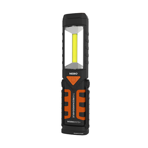 Nebo Workbrite 2 Rechargeable LED Work Light - Black/Orange