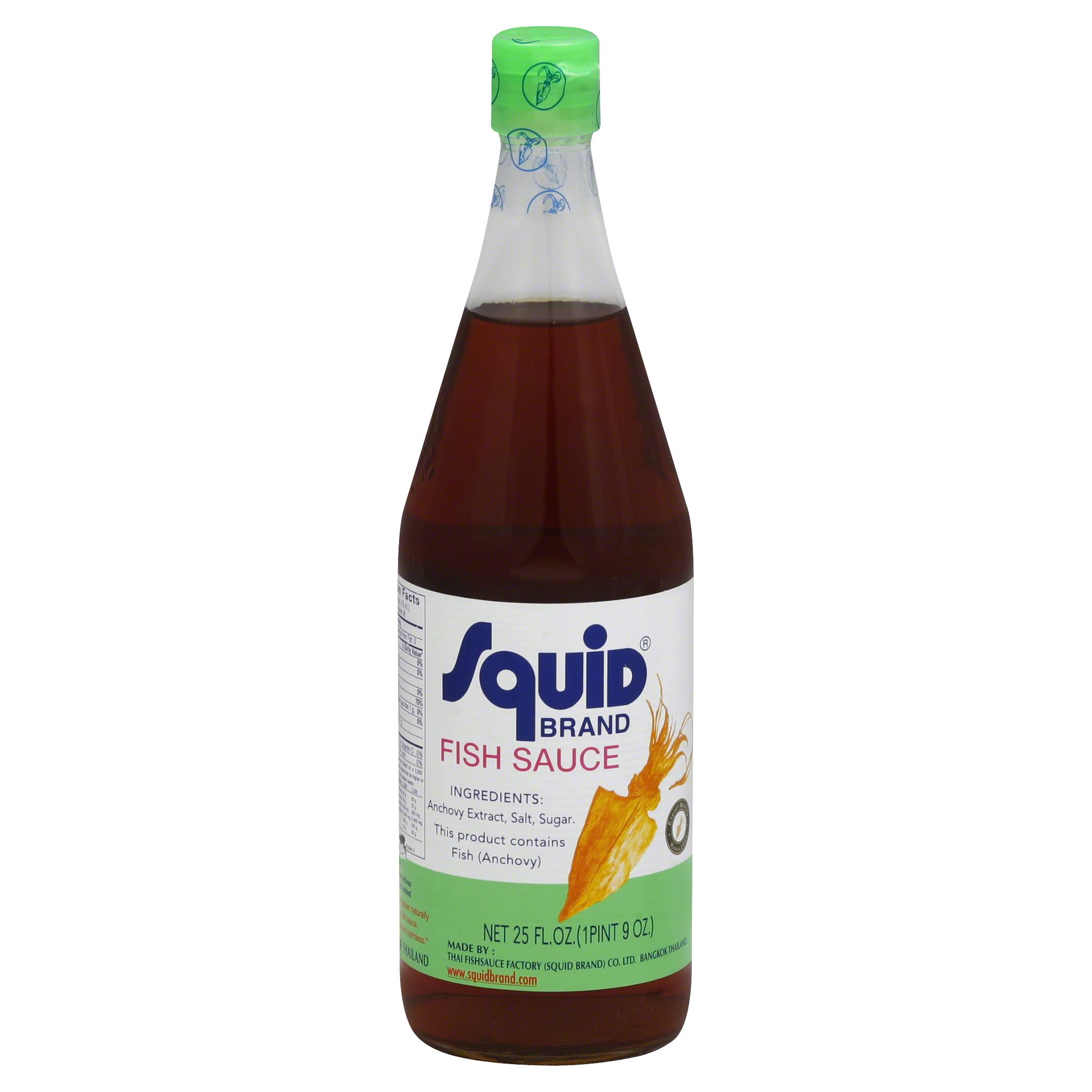 Squid Brand Fish Sauce - 24oz